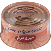 Chicken in Oil Canned - 180 gr - Miromorgh