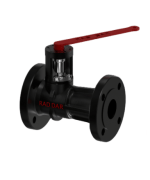 "Steel Boiler Ball Blowdown Valve - Two side Flange - Size: 1"" - Raddar"