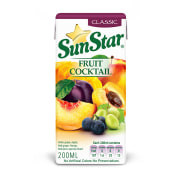 Seven classic fruit juice packed 200 cc, sanstar