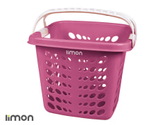 Laundry Basket With Handles - Plastic - Limon Brand - Model 034