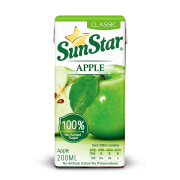 Apple Juice - 200 cc - Sunstar