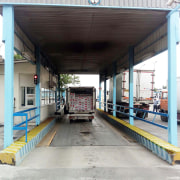 "Weighbridge For Trucks - All-metal With Sidewalls - Prefabricated In Pit (Ground Level) - 3 * 16 m - Company ""Micron Towzin"""