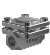 stainless steel Thermostatic Steam Trap - Size: 3/4 - Raddar