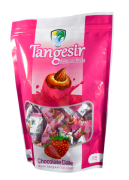 Date with Almond & Chocolate with Strawberry Flavors Coating - 250 g - Tangesir