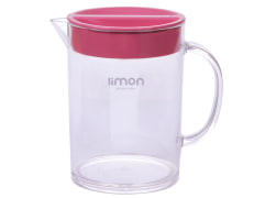 Pitcher - Plastic - With Lid - Limon Brand - Acrylic Model