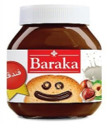 Cocoa Cream Spread - Hazelnut Flavors - 330 gr - Baraka Chocolate
