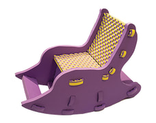Foam Chair For Kid's - 33*50*70 Cm - Baafoam Company