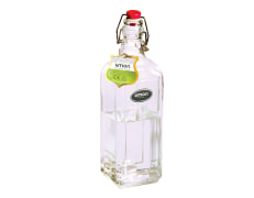 Water Bottle With Clip Top - Glass - Limon Brand - Model : Ava 70435