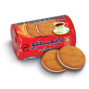"Creamed Digestive Biscuit - 200 g Package - Model: ""Gol Gandom"" - Anata Company"