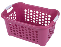 Laundry Basket - Plastic - Rectangular - Limon Brand - Medium Size