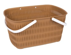 Basket For Shopping And Picnic - Without Lid - Bamboo Design - Limon Brand - Model 139000