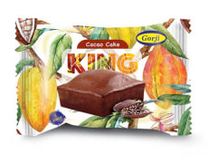 Cocoa Cake - 80 g Pack - Model: King - Gorji Company