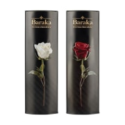 Chocolate Truffle, Center filled - 250 g Gift Package - Model: Lux Rose, Baraka Chocolate