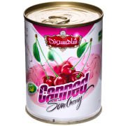 Sour Cherry Compote - 380 gr -Shahsavand
