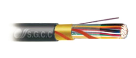 "Copper Cable For Telecommunication - Aerial Without Suspension Strand - Brand ""S.G.C.C"""