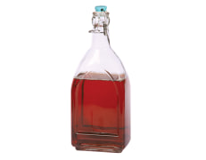 Water Bottle With Clip Top - Square - Limon Brand - Model 95235