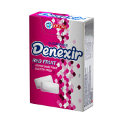 Chewing Gum - Sugar Free - Flavored: Red Fruit - 21 gr - Denexir
