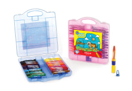 Oil Pastel In Plastic Box - 24 Colors - Arya Company - 2031