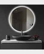 Lighted Mirror - Model: NQ-70 - Dolphin
