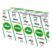 "Chewing Gum - Mint Flavor - 6 Pcs Pack - ""Chic"" Brand - Minoo Company"