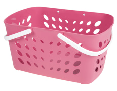Shopping Basket - Plastic - With Handles - Limon Brand - Model : Sahel 143635