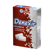 Chewing Gum - Sugar Free - Flavored: Cinnamon - 21 gr - Denexir
