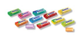 "Chewing Gum (Sugar Free) - Different Flavors - 20 Gr Pack - ""White"" Brand - Minoo Company"