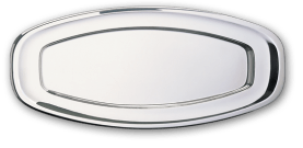 Steel Dish - Oval Shaped - 0.6 mm Thickness Size 740*300 mm - Model H240 - Negar Steel Brand