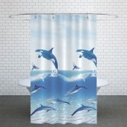 Shower Curtain - Model: jack-9515 - Dolphin