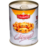Canned Pinto Bean with Mushroom - 380 gr - Shahsavand