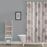 Shower Curtain - Model: TOR-2345 - Dolphin