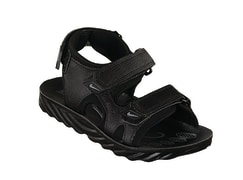 Sandals - Industrial leather with PU sole, size 26-31 - Model Kasra 103 Code 77903