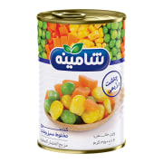 Canned Mix Vegetable - 350 gr - Shamineh