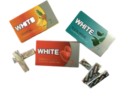 "Chewing Gum - Different Flavors - ""White"" Brand - Minoo Company"
