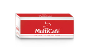 Instant Coffee Mix 3in1 - 120 Sachets Pack - Multi Cafe