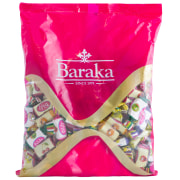 Toffee With Butter & Fruit Flavor - 200, 450, 900 g Package - Baraka Chocolate
