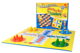 Game Board For Mensch & Snakes & Ladders Games - 64*64 Cm - Baafoam Company