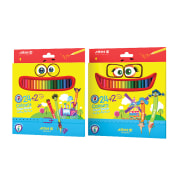 Colored Pencils - 24+2 Colors - Cardboard Package - Arya Company - 3017