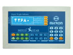 Weight Indicator - For Truck Scales & Industrial Automation - Model : Star - Micron Towzin Company