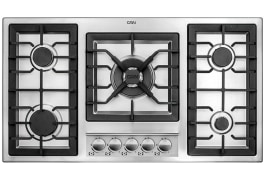 "Gas Cooker Hob - Built In Type, Steel Material, 5 Burner, With Thermocouple & Stainless Steel Cover - Model: 518SX - ""Can"" Brand"