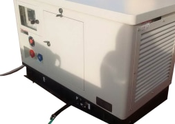 SILENT GAS GENERATOR SET 15KW  (NATURAL GAS, LPG, PETROL)