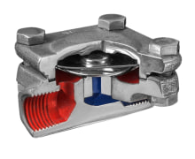 Steam Trap - Thermostatic - Threaded - Stainless Steel - For Steam Pipelines - Raddar Company