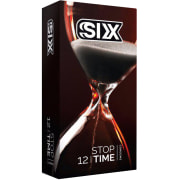 Six Condom, Stop time Model ,12 pcs per pack