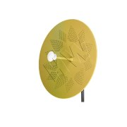 Antenna - Dual, Perforated Dish, 33.5 dBi, 5.8 GHz lng, Model: HW4961-33.65D-HP - Honor Wave