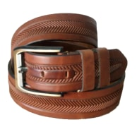Genuine Cow Leather Belt For Men - Code : 4517 - Gara Company
