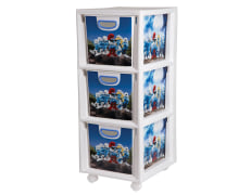 Chest of Drawers For Children - Plastic - 3 Drawers - Limon Brand - Model 134200