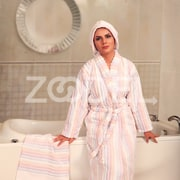 Wave Design Bathrobe