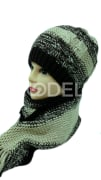 Men's hat and scarf set Code: 175