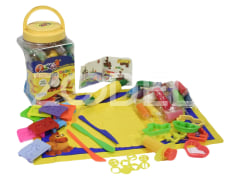18 colour play dough - large bucket-1033