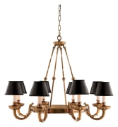 bronze chandelier crystal lighting